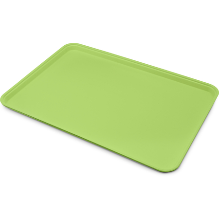 "1318FG009 - Glasteel™ Solid Display/Bakery Tray 17.75"" x 12.75"" - Lime"