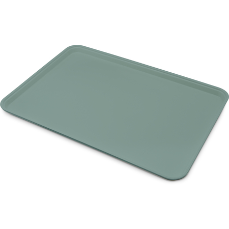 "1318FG010 - Glasteel™ Solid Display/Bakery Tray 17.75"" x 12.75"" - Forest Green"