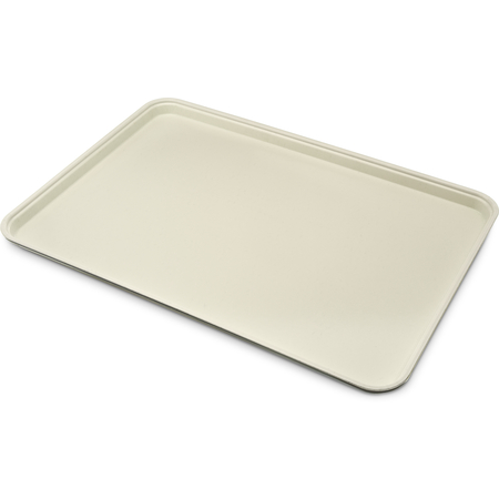 "1318FG095 - Glasteel™ Solid Display/Bakery Tray 17.75"" x 12.75"" - Almond"