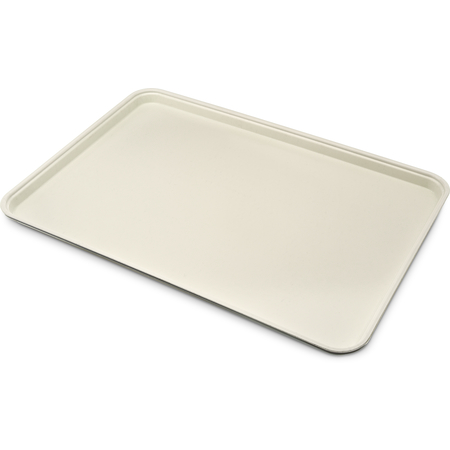 "1318FG025 - Glasteel™ Solid Display/Bakery Tray 17.75"" x 12.75"" - Beige"