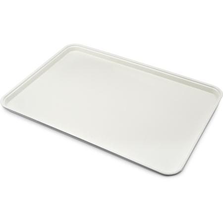 "1318FG001 - Glasteel™ Solid Display/Bakery Tray 17.75"" x 12.75"" - Bone White"
