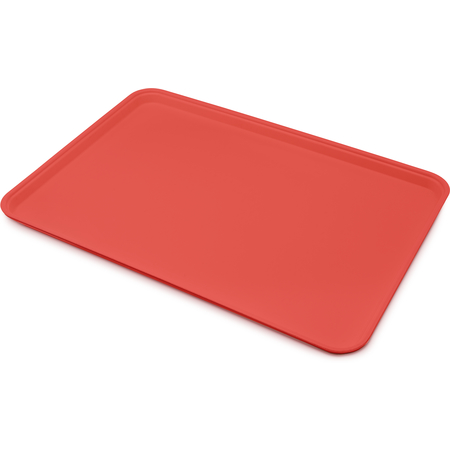 "1318FG017 - Glasteel™ Solid Display/Bakery Tray 17.75"" x 12.75"" - Red"