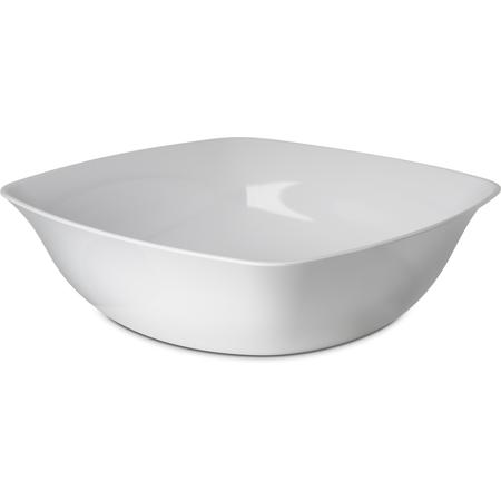 """3336202 - Square Flared Bowl 8qt,14"""" - White"""