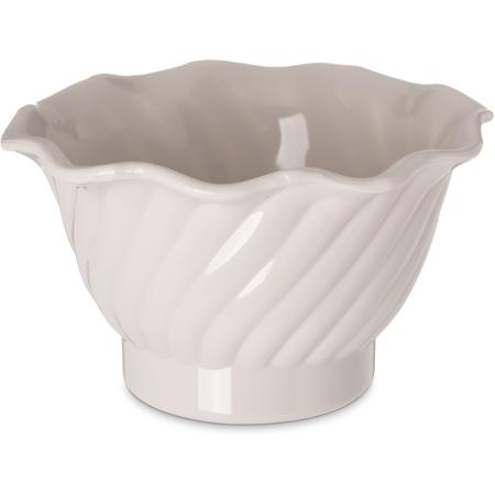 453042 - Tulip Dessert Dish 5 oz - Bone