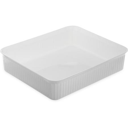 "811202 - Deliware® Rectangular Crock 10 lb 12-7/16"" x 10-1/4"" - White"