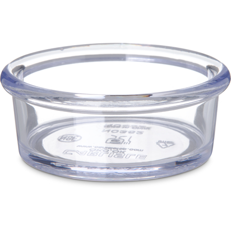 036207 - SAN Smooth Ramekin 2.5 oz - Clear