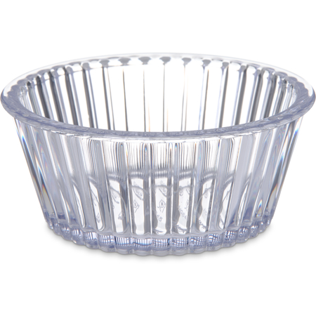 084507 - SAN Fluted Ramekin 4.5 oz - Clear