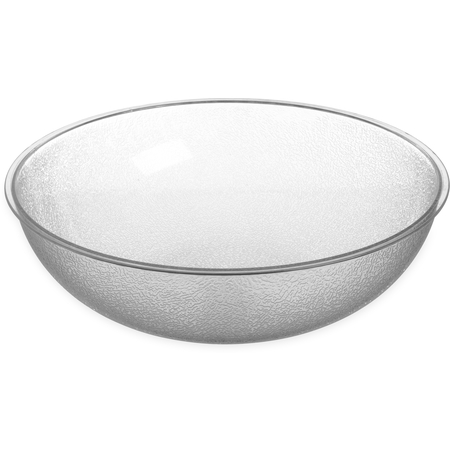 720807 - Round Pebbled Bowl 1.7 qt - Clear