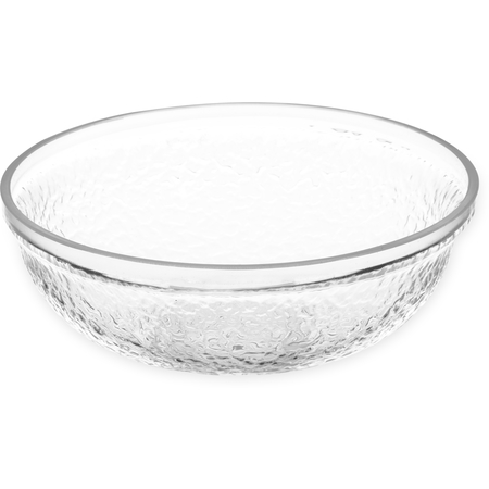 SB6607 - Pebbled Bowl Round 0.5 oz - Clear