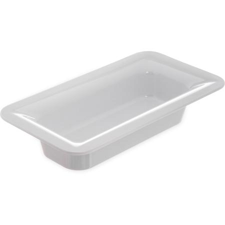 """4446202 - Designer Displayware™ Third Size Food Pan 2-1/2"""" - White"""