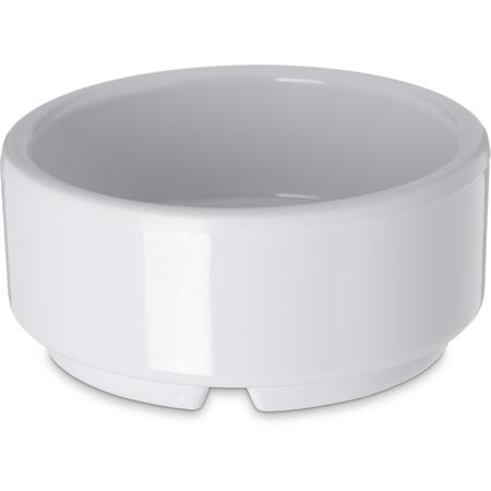 41002 - Melamine Straight-Sided Ramekin 2 oz - White