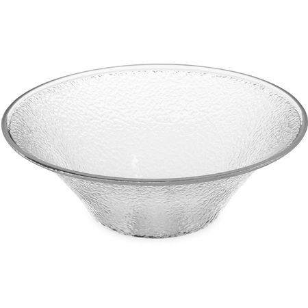 SB9007 - Pebbled Bowl 3.3 qt - Clear