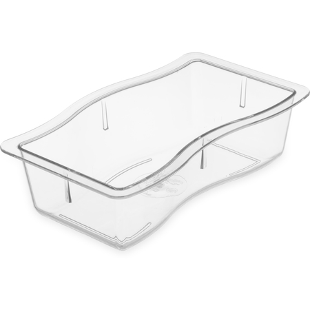 "698407 - Modular Displayware Half Size Pan 2-1/2"" Deep - Clear"