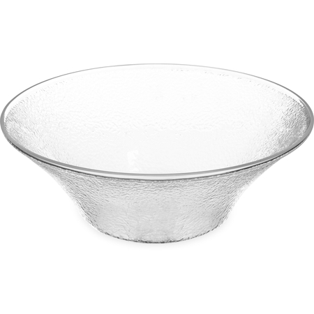 SB9407 - Pebbled Bowl 6 qt - Clear