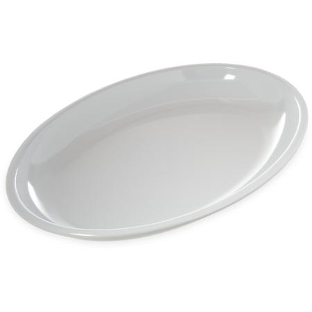 "791802 - Displayware™ 4 qt Oval Platter 19-3/16"" x 13-3/4"" - White"