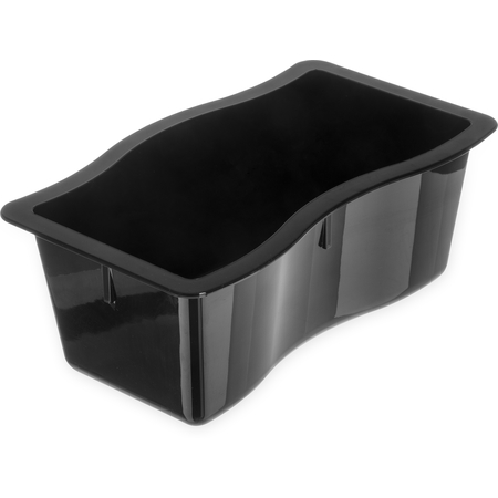 "6984403 - Modular Displayware Half Size Pan 4"" Deep - Black"