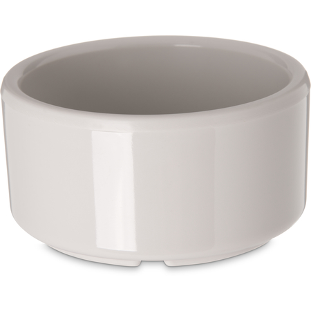 41242 - Melamine Straight-Sided Ramekin 3 oz - Bone