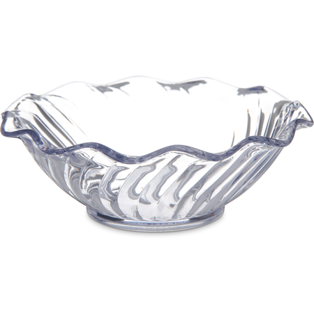 "453107 - Tulip Berry Dish 5 oz, 4-5/8"" - Clear"