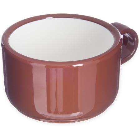 """451228 - Jumbo Soup/Latte Mug 12 oz, 5-1/2"""" - Lennox Brown"""