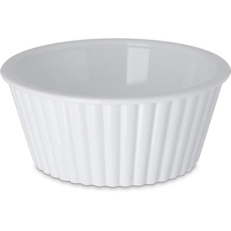 084502 - SAN Fluted Ramekin 4.5 oz - White