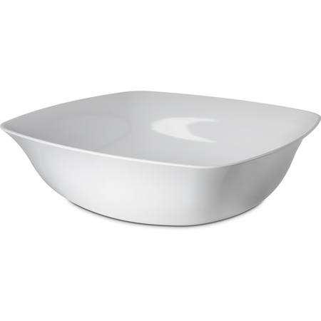 """3336402 - Square Flared Bowl 15.5qt,17"""" - White"""
