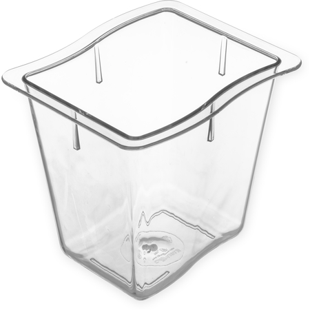"6986607 - Modular Displayware Third Size Pan 6"" Deep - Clear"