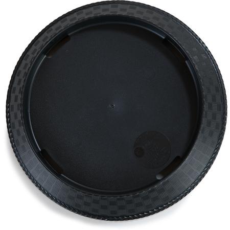 """652803 - PLATTER 9"""" ROUND WEAVE BLACK"""