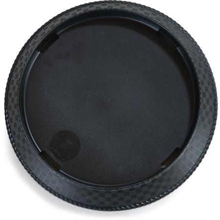 """652903 - PLATTER 11"""" ROUND WEAVE BLACK"""