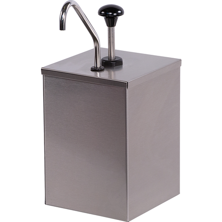 386010 - High Volume Condiment Pump with Stainless Steel Pump  - Stainless Steel
