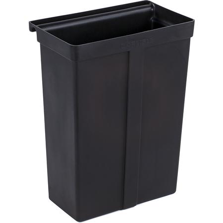 SBC11TC03 - Trash Container for Service Cart (SBC230)  - Black