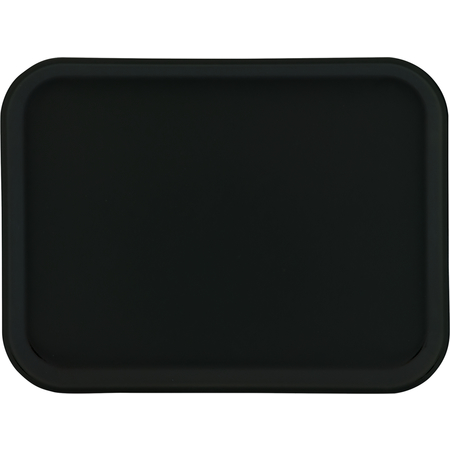"1410FG004 - Glasteel™ Solid Rectangular Tray 13.75"" x 10.6"" - Black"
