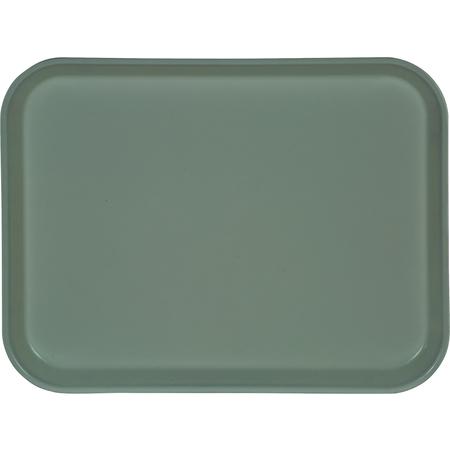 "1410FG012 - Glasteel™ Solid Rectangular Tray 13.75"" x 10.6"" - Sea Spray"