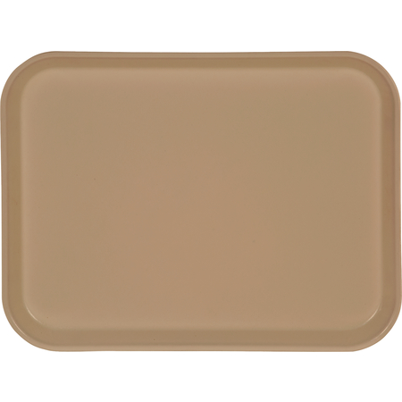 "1410FG025 - Glasteel™ Solid Rectangular Tray 13.75"" x 10.6"" - Beige"