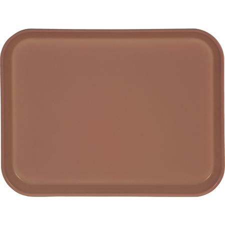 "1410FG066 - Glasteel™ Solid Rectangular Tray 13.75"" x 10.6"" - Mauve"