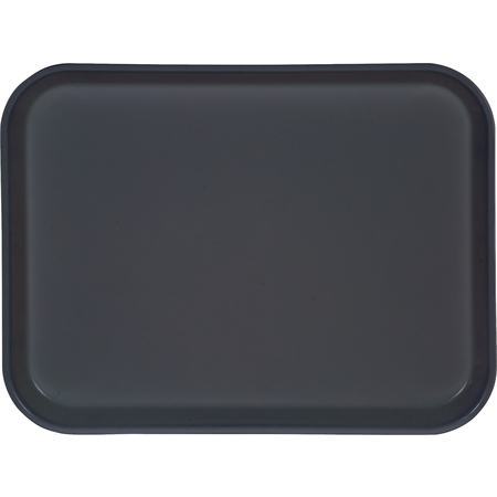 "1410FG067 - Glasteel™ Solid Rectangular Tray 13.75"" x 10.6"" - Slate Blue"
