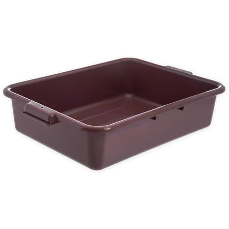 "N4401001 - Comfort Curve™ Tote Box 20"" x 15"" x 5"" - Brown"