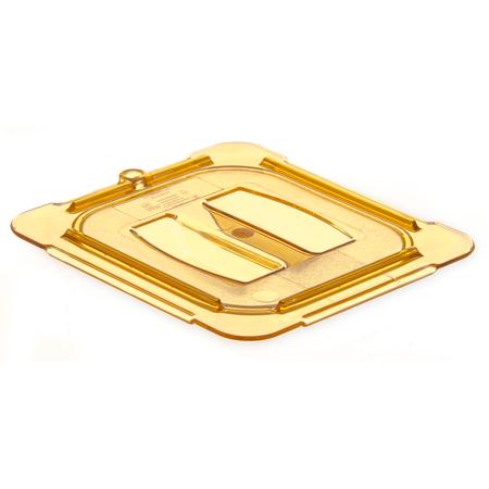10510U13 - StorPlus™ Univ Lid - Food Pan HH Handled 1/6 Size - Amber