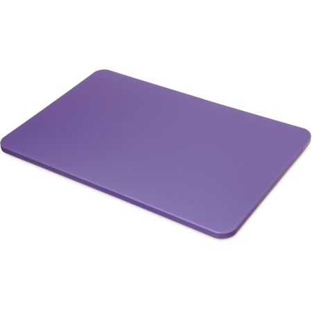 "1088289 - Spectrum® Color Cutting Board 12"" x 18"" x 0.5"" - Purple"