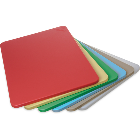 "1088000 - Spectrum® Color Cutting Board Pack 12"" x 18"" x 1/2"" (6/pk) - Assorted"