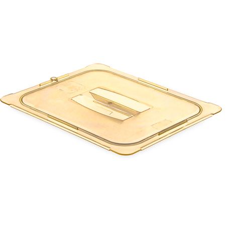 10430U13 - StorPlus™ Univ Lid - Food Pan HH Handled 1/2 Size - Amber