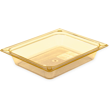 "10420B13 - StorPlus™ Food Pan HH 2.5"" DP 1/2 Size - Amber"