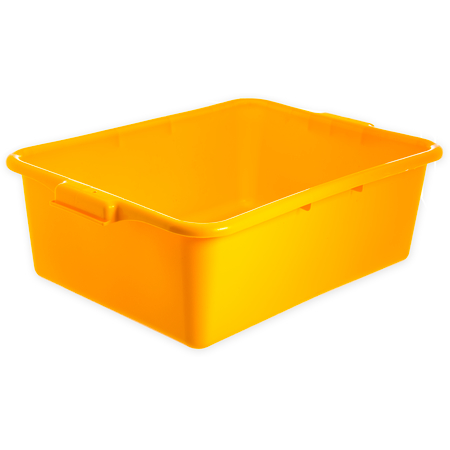 "N4401104 - Comfort Curve™ Tote Box 20"" x 15"" x 7"" - Yellow"