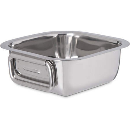 "609082 - Square Display Dish 6-5/16"" - Stainless Steel"