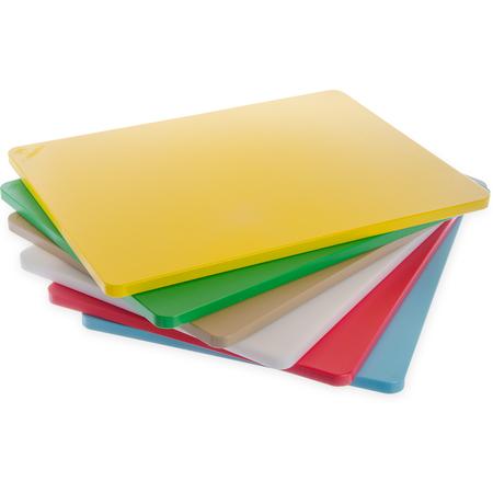 """1289102 - Spectrum® Cutting Board Pack 18"""", 24"""", 3/4"""" - White"""