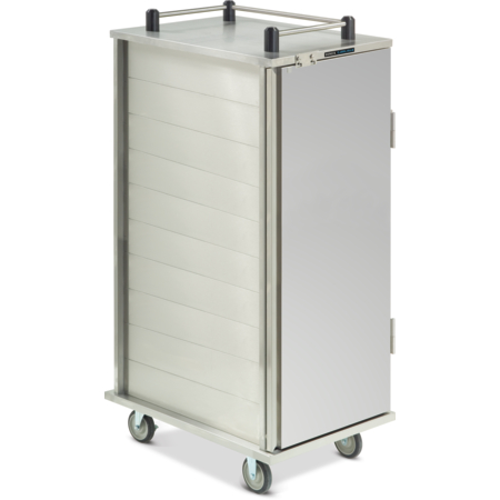 DXICTPT20 - Value Line Tray Cart, Enclosed Pass Thru  - Stainless Steel
