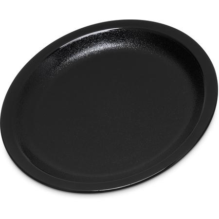 """PCD20503 - Polycarbonate Narrow Rim Plate 5.5"""" - Black"""