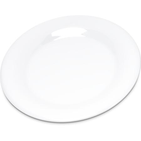 "4301802 - Durus® Melamine Pie Plate Wide Rim 6.5"" - White"