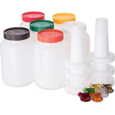 PS701B00 - Stor N' Pour® Half Gallon Complete Assortment contains 1 each of the following colors - Assorted