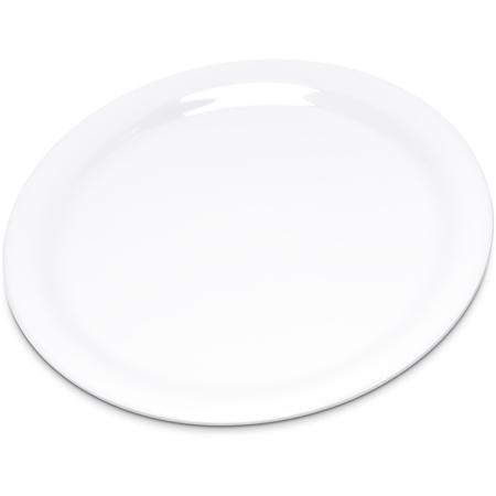 "4300802 - Durus® Melamine Narrow Rim Pie Plate 6.5"" - White"