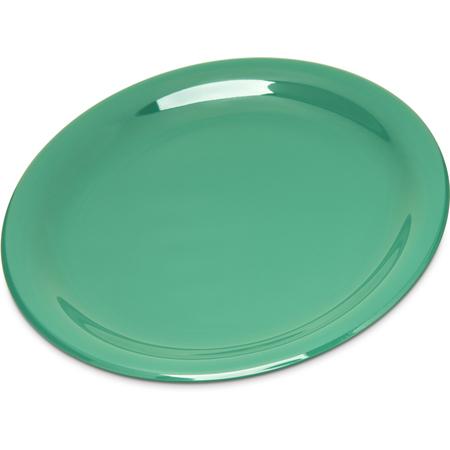 "4300609 - Durus® Melamine Salad Plate Narrow Rim 7.25"" - Green"